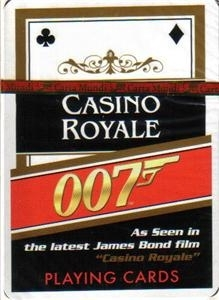 Baraja poker Casino Royale de Cartamundi