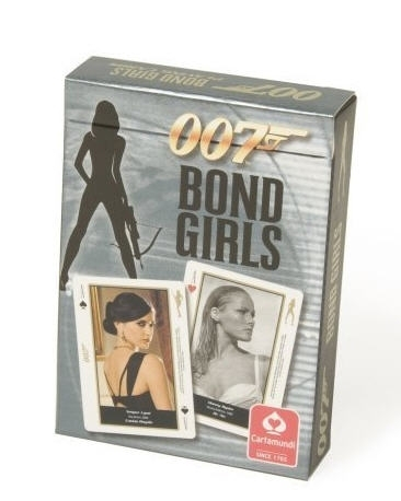 Baraja poker Bond Girls de Cartamundi